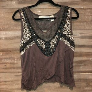 Vintage Havana Tops - Flowy cropped tank! Fun designs!